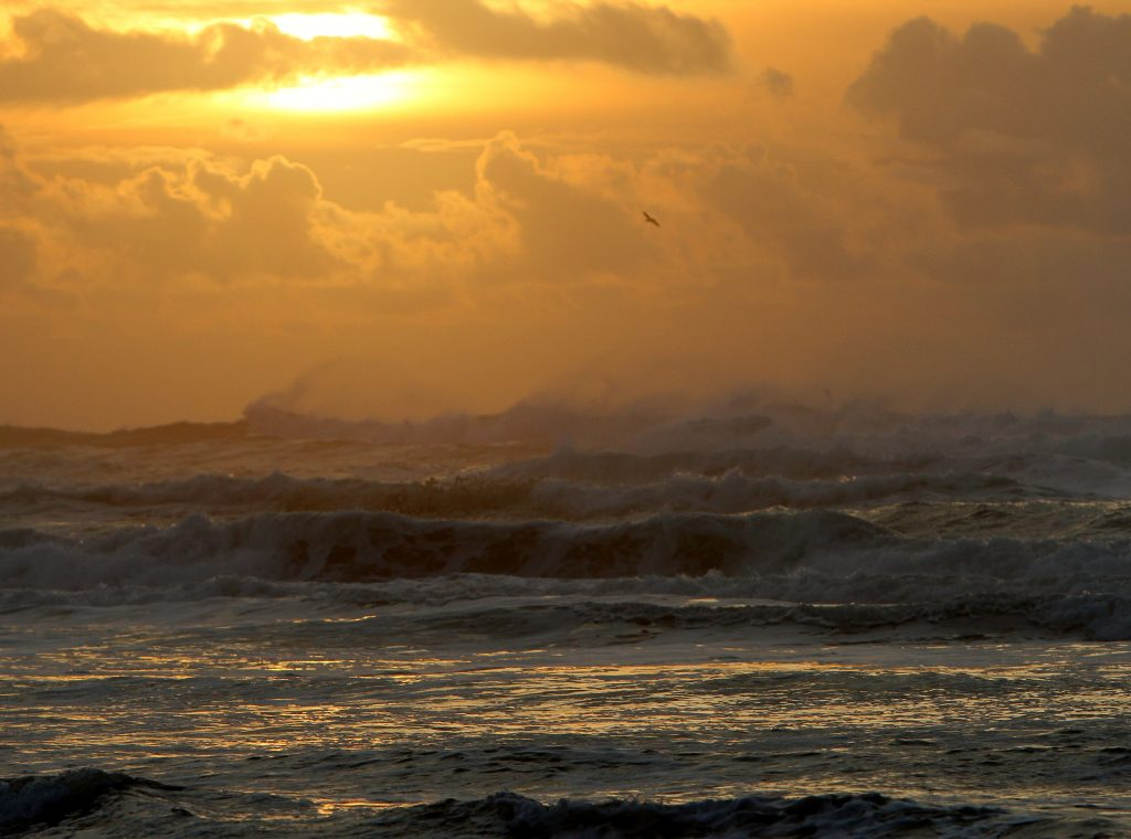 Yachats, Oregon beach at sunset: GoRoamin travel blog