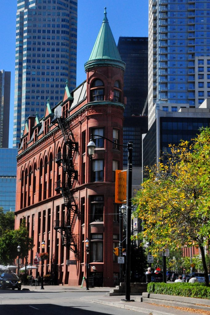 Toronto, Ontario, Flatiron Building, GoRoamin travel blog photo