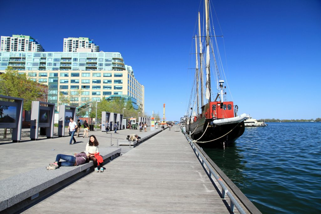 Toronto Harbourfront Center, GoRoamin travel blog