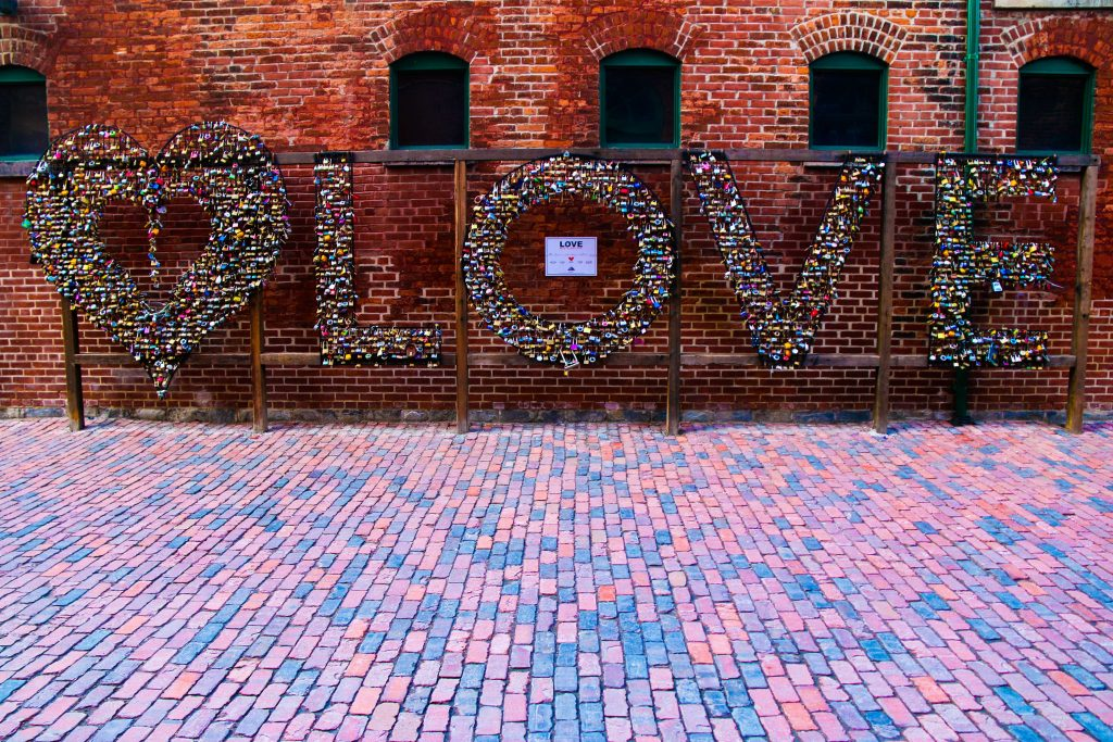 Toronto Love Locks at The Distillery, GoRoamin travel blog
