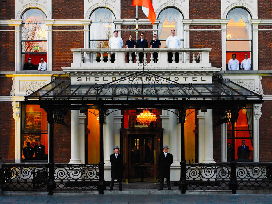 Oldest hotels in the world, Shelbourne Hotel Dublin, GoRoamin Travel Blog