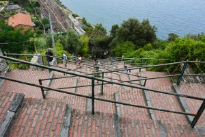 Cinque Terre, Corniglia, Italy staircase, GoRoamin Travel Blog