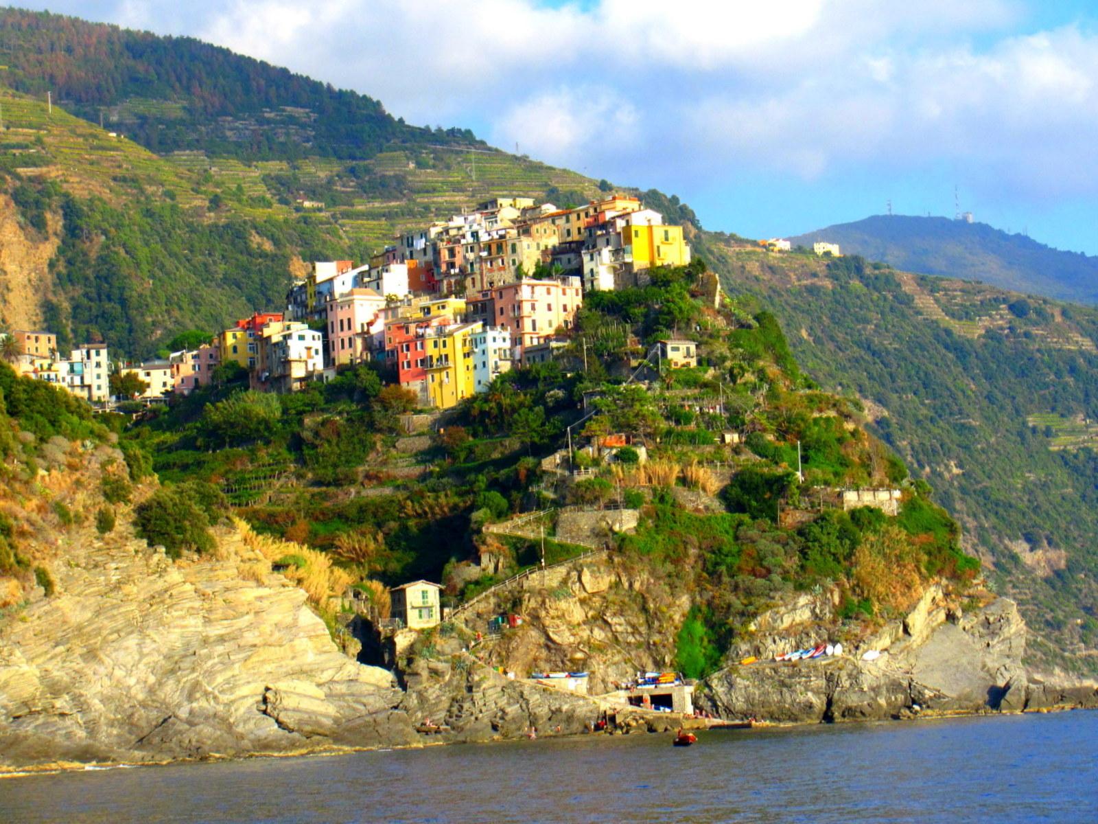 Cinque Terre, Corniglia, Italy. GoRoamin Travel Blog