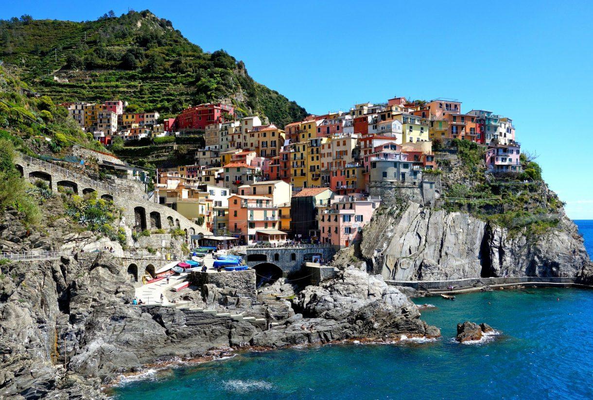 Cinque Terre, Manarola, Italy. GoRoamin Travel Blog