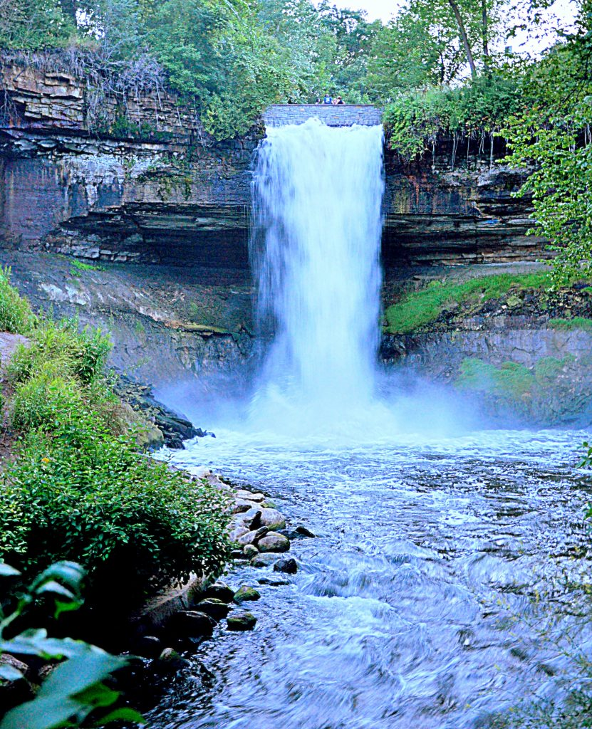 Minnehaha Falls, Minneapolis, MN. GoRoamin Travel Blog