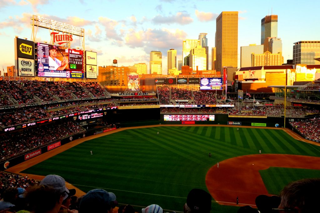 Target Field, MN Twins, Minneapolis. GoRoamin Travel Blog