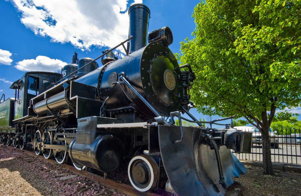 Old Steam Train, Flagstaff, Arizona, GoRoamin Travel Blog