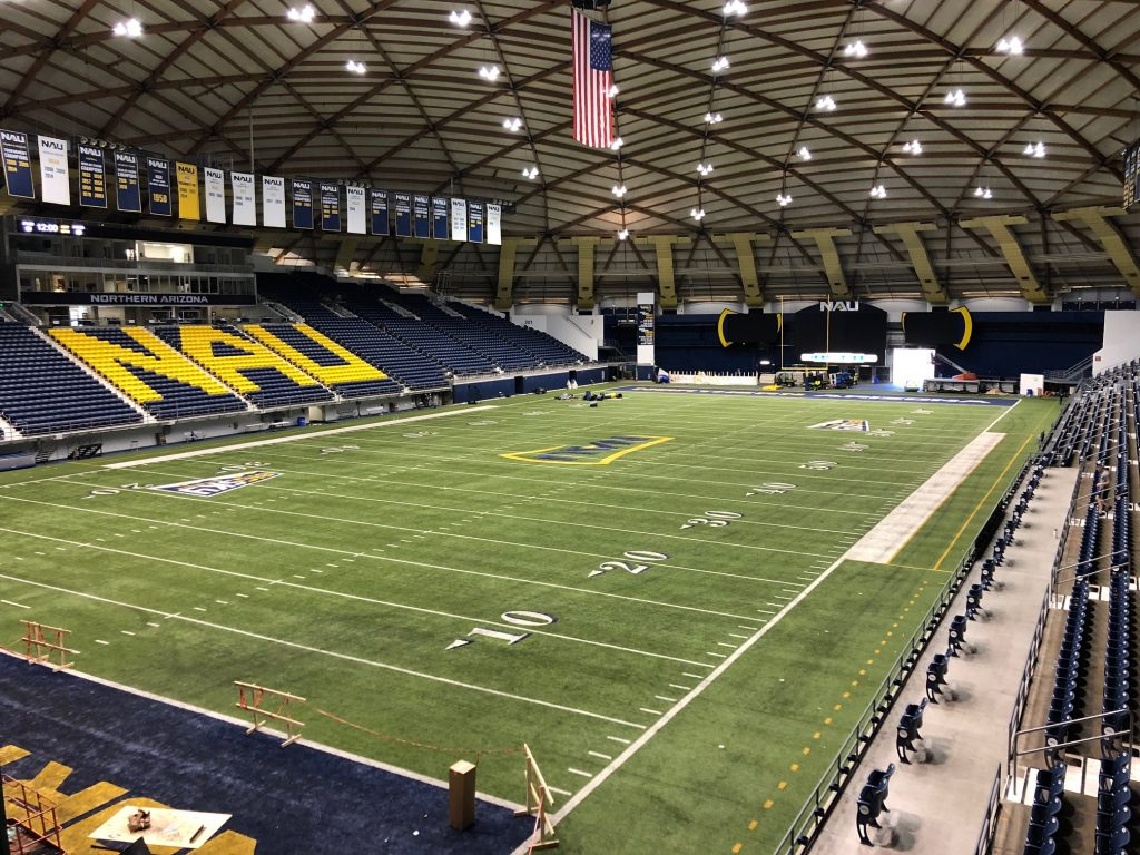 Northern Arizona University Domed stadium, GoRoamin travel blog