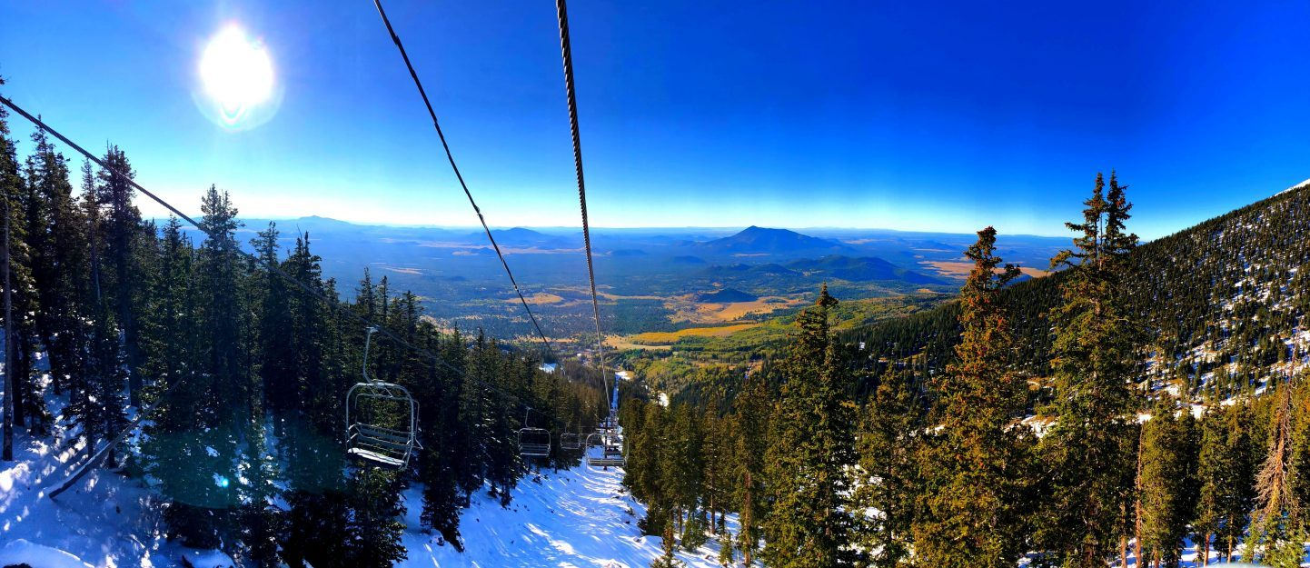 Snow Bowl Skiing, Flagstaff, Arizona, GoRoamin Travel Blog
