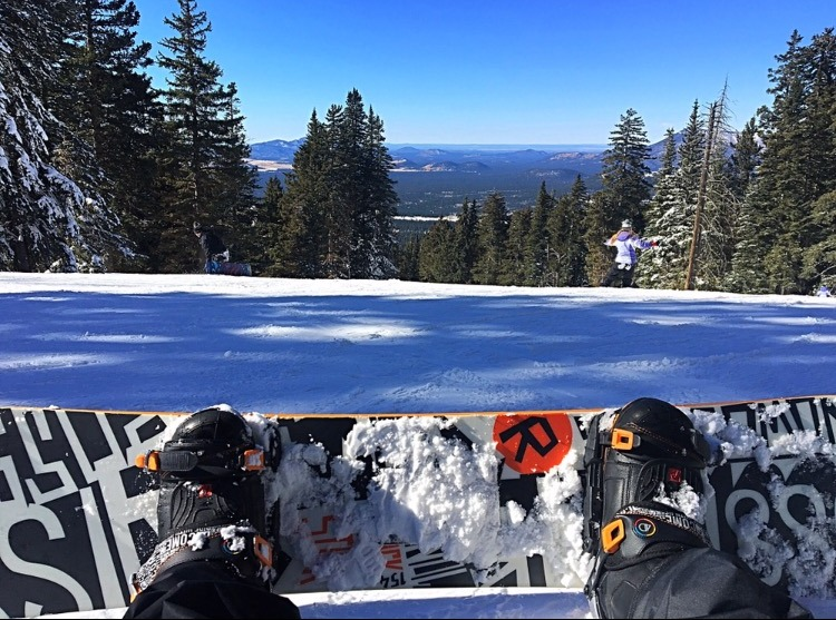 Snowboarding in Flagstaff, AZ GoRoamin Travel Blog