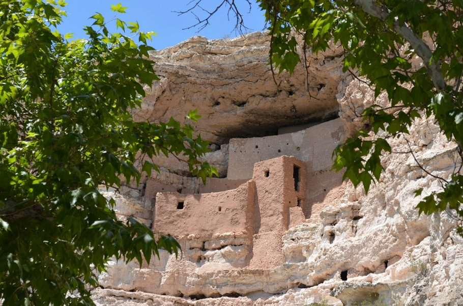 Montezuma Castle National Monument, near Flagstaff, AZ. GoRoamin Travel Blog